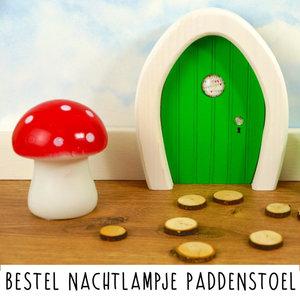 Droomdeurtjes Droomdeurtjes nachtlampje paddenstoel