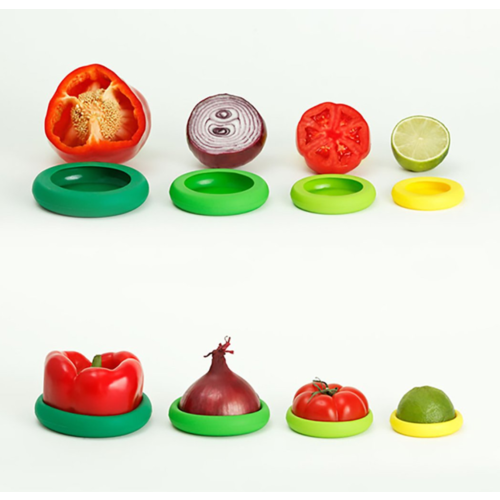 Food Huggers Food Huggers set van 5 Fresh Greens