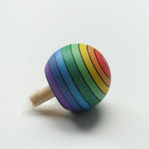 Mader Mader Houten Omdraaitol Regenboog