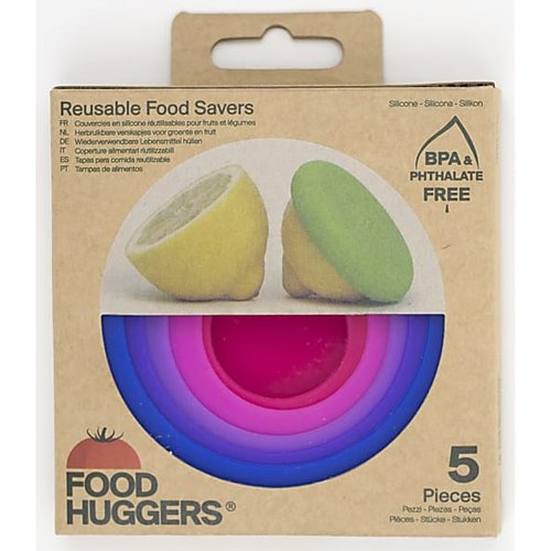 Food Huggers Food Huggers set van 5 Bright Berry