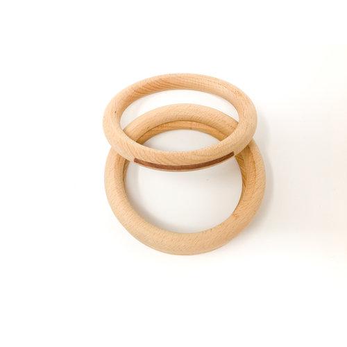Grapat Grapat Grote Houten Ringen 3 stuks