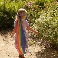 Sarah's Silks zijden sluier regenboog