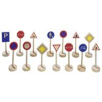 Goki verkeersborden set (15 delig)