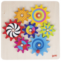 Goki houten tandwielen spel