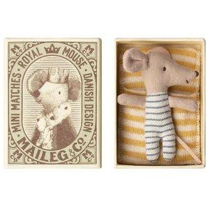 Maileg Maileg baby muis jongetje in doos
