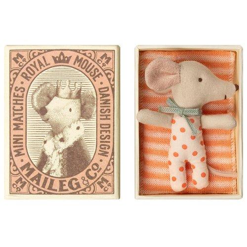 Maileg Maileg baby muis meisje in doos