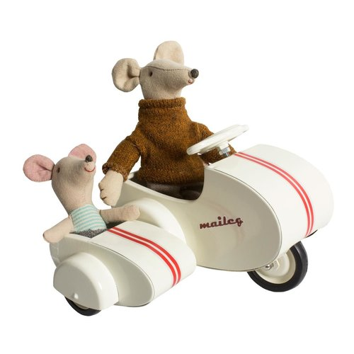 Maileg Maileg vintage scooter met zijspan
