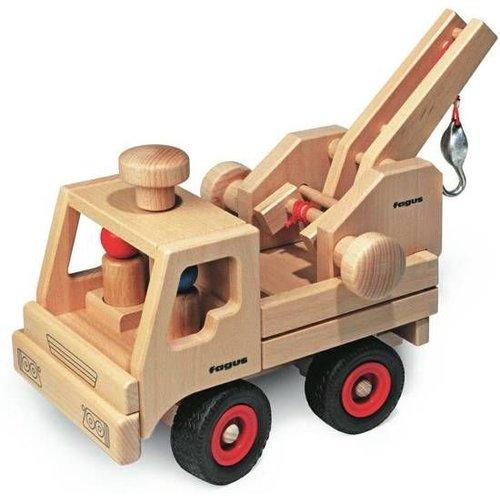 Fagus Houten Speelgoed Fagus Unimog Takelwagen Uitbreiding