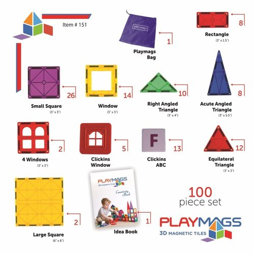 Playmags Playmags 100 set