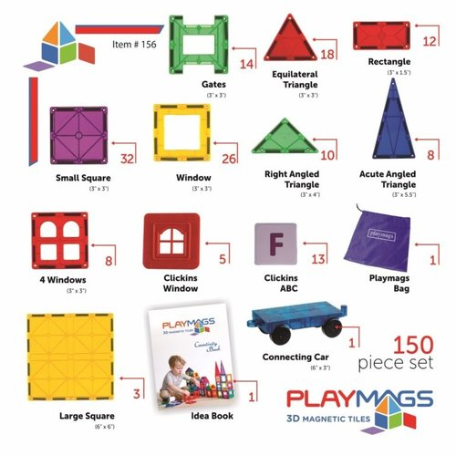 Playmags Playmags 150 set