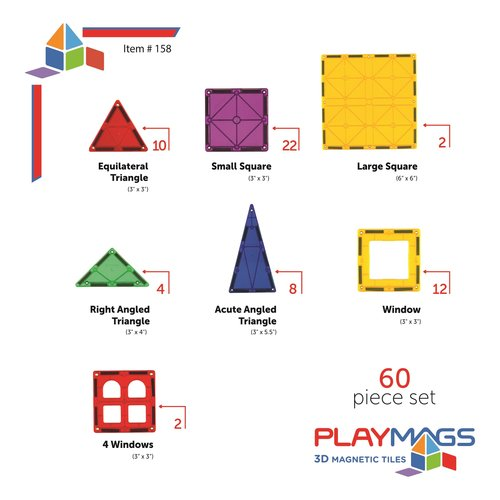Playmags Playmags 60 set