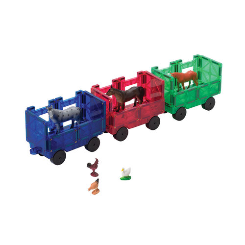 Playmags Playmags 20 treinset