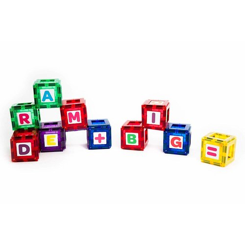 Playmags Playmags 80 - ABC set