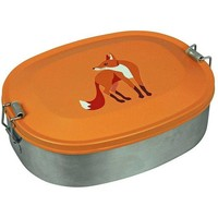 The Zoo RVS Lunchbox Vos