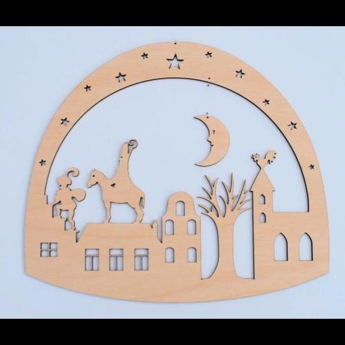 De Noest De Noest Sinterklaas raamhanger
