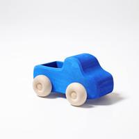 Grimms Houten Auto Blauw