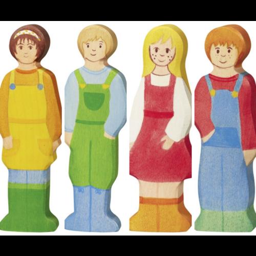 Holztiger Holztiger Boerenfamilie