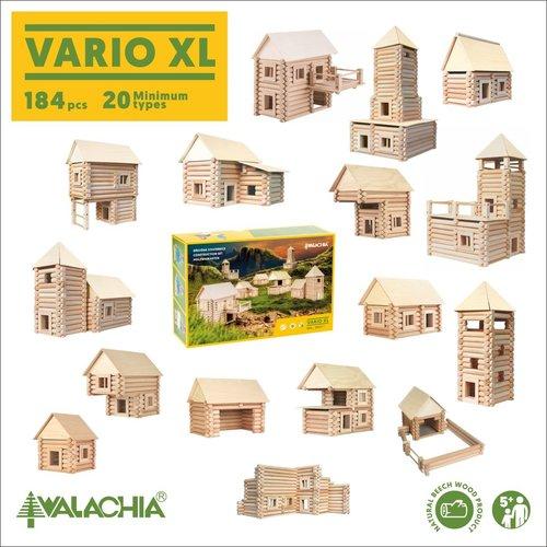 Walachia Walachia Bouwset Vario XL 184 delige set