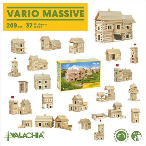 Walachia Walachia Bouwset Vario Massive 209 Delige set