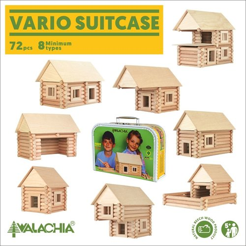 Walachia Walachia Bouwset Vario Koffer 72-delige set
