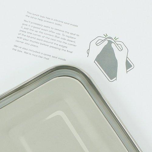 A Slice of Green Yanam - RVS Lunch Box lekvrij