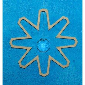 De Noest De Noest Kristalhanger Sneeuwkristal