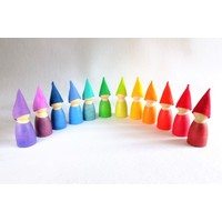 Atelier Pippilotta Kaboutermutsjes Regenboog