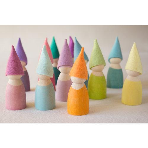 Atelier Pippilotta  Atelier Pippilotta Kaboutermutsjes Pastel voor de Grimm's vriendjes