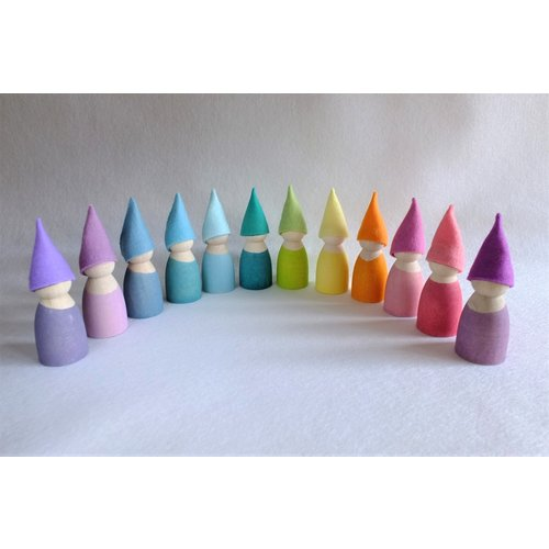 Atelier Pippilotta  Atelier Pippilotta Kaboutermutsjes Pastel