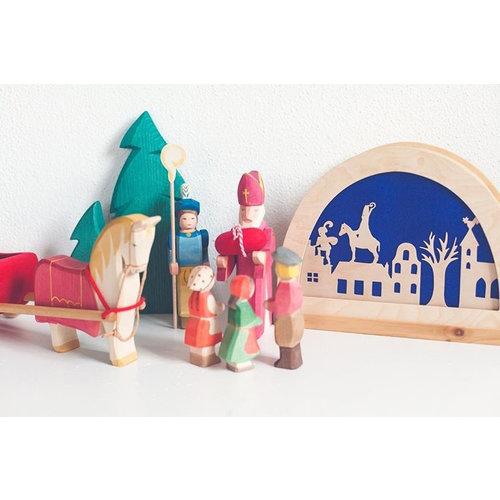 De Noest De Noest Sinterklaas Silhouet