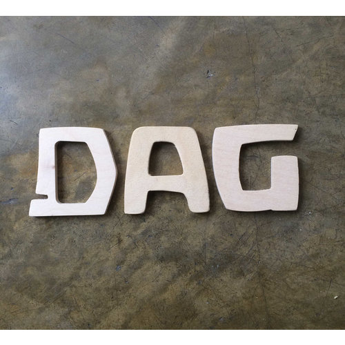 Speelbelovend Speelbelovend Antroposofische Houten Letters