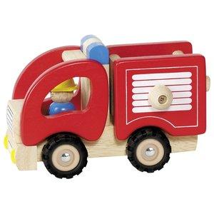 Goki Goki Houten Brandweerwagen