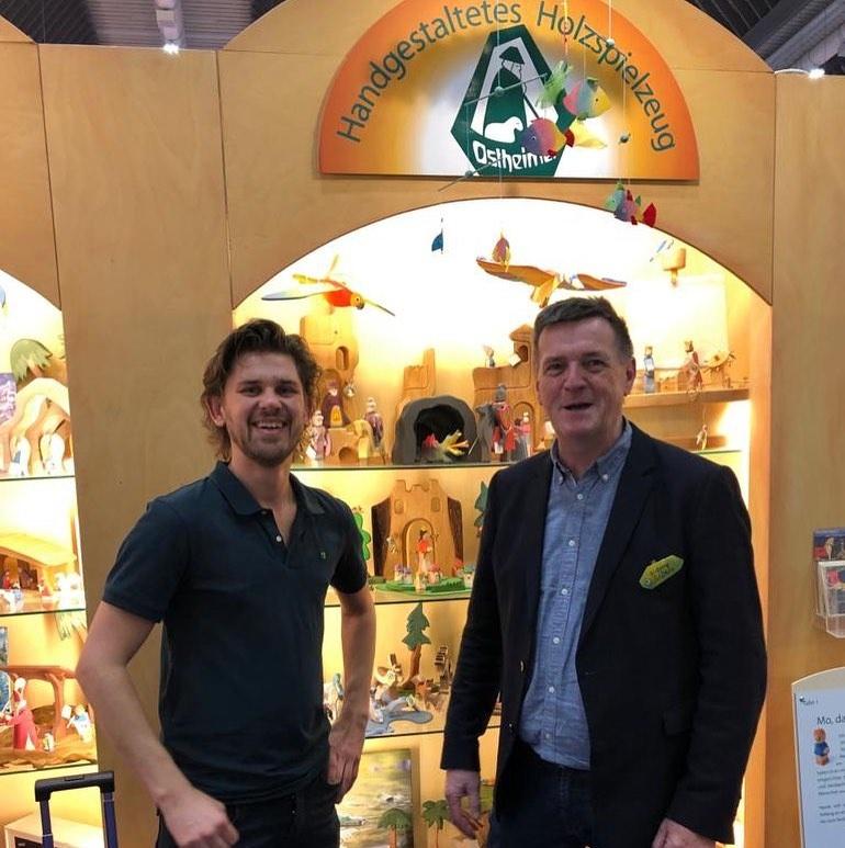 Hout en Plezier visit Ostheimer at Spielwarenmesse 2020