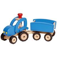 Goki Tractor met aanhanger