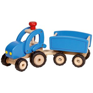 Goki Goki Tractor met aanhanger