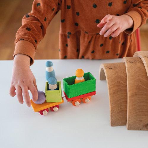Grimms Grimms bouwset houten trein