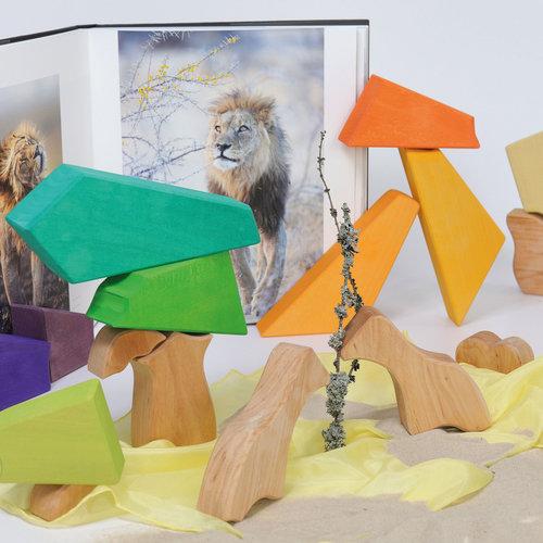 Grimms Grimms bouwset Regenboog Leeuw