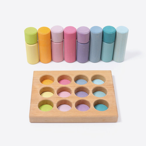 Grimms Grimms Rollers Pastel in sorteerbord
