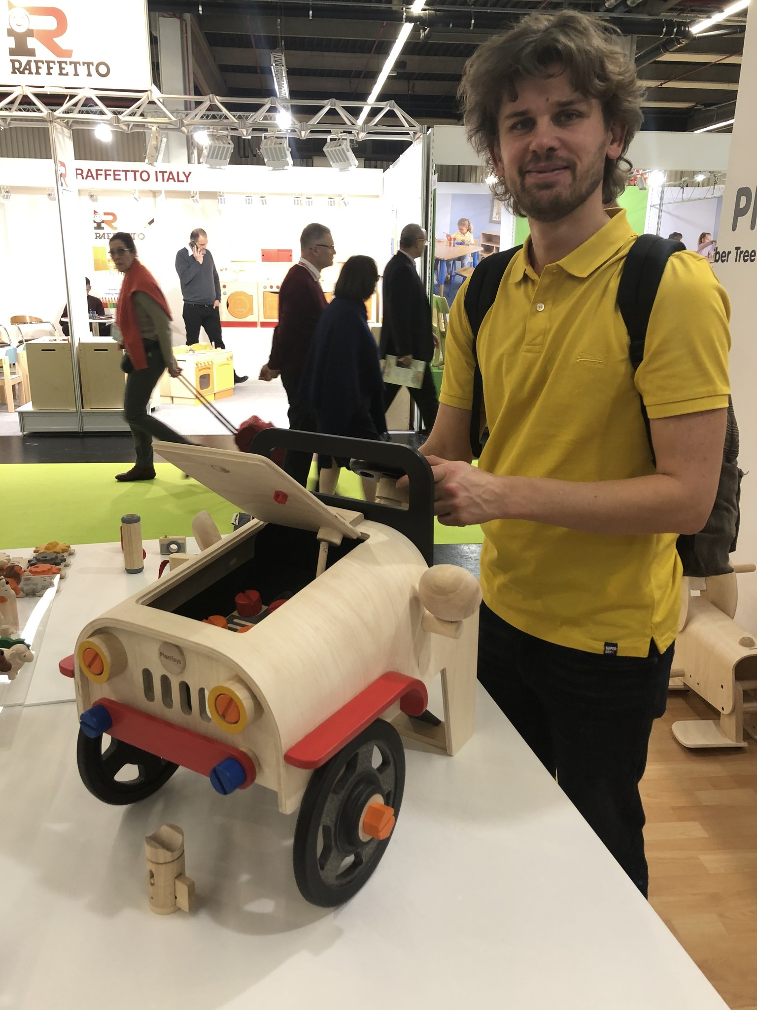 Hout en Plezier at the Spielwarenmesse