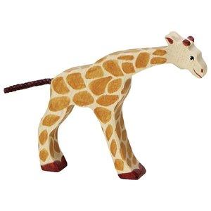 Holztiger Holztiger Giraffe klein kop omlaag