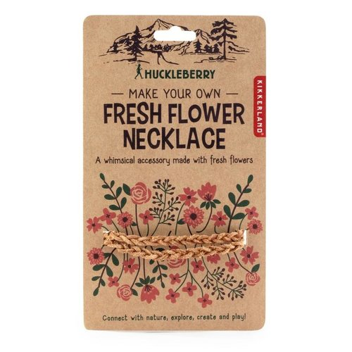 Kikkerland Huckleberry Bloemenkrans - maak je eigen bloemenkrans