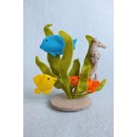 Atelier Pippilotta Waterplantjes, vissen en zeepaardje