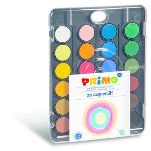 Primo Aquarelverf set 24 kleuren