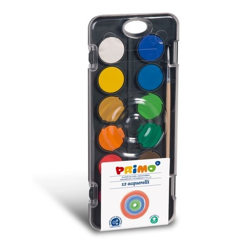 Primo Aquarelverf set 12 kleuren