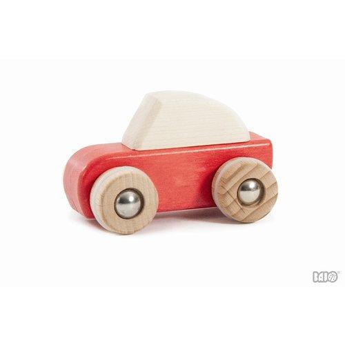Bajo Houten Speelgoed Bajo Auto met Pullback