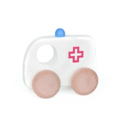 Bajo Houten Speelgoed Bajo Ambulance