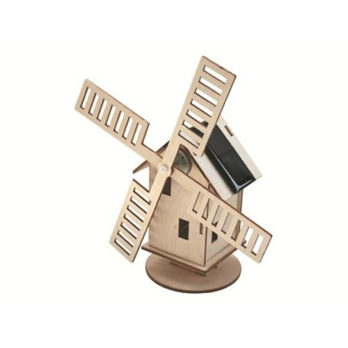 Sol-expert Bouwpakket – Hollandse molen met zonnepaneel