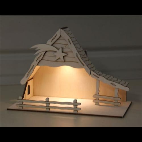 "Sol-expert Kerststal ""Bethlehem""  met zonne-verlichting"
