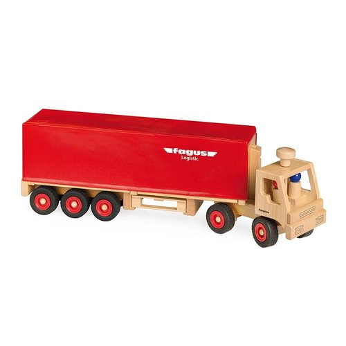 Fagus Houten Speelgoed Fagus Vrachtwagen