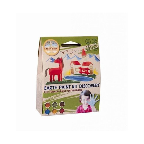 Natural Earth Paint Natural Earth Paint Kit Discovery voor 1 liter natuurlijke kinderverf